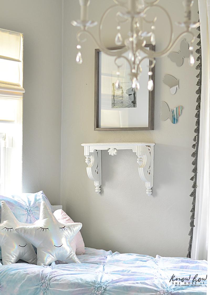Kids Bedroom Refresh Tips Mirror Butterflies