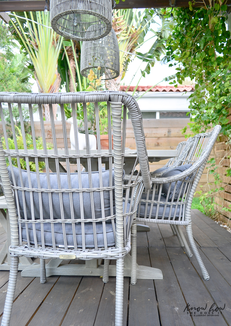 Spring Patio Update Outdoor chair
