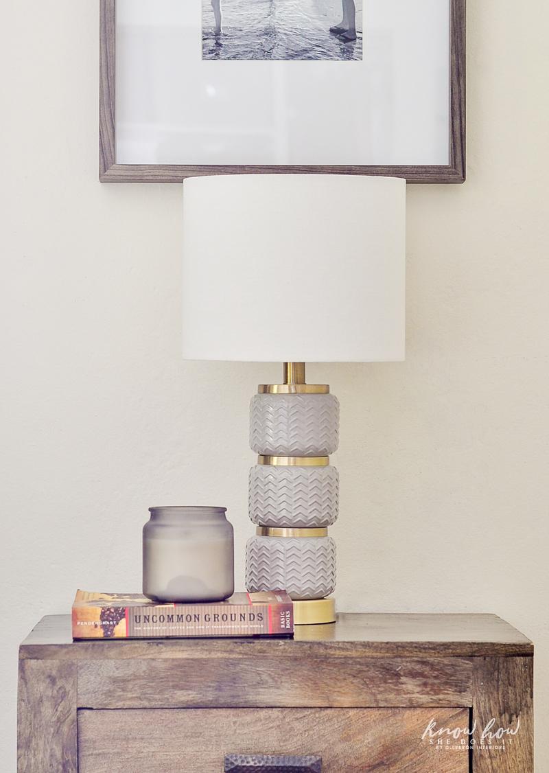 A dash of neutral boho table lamp 2