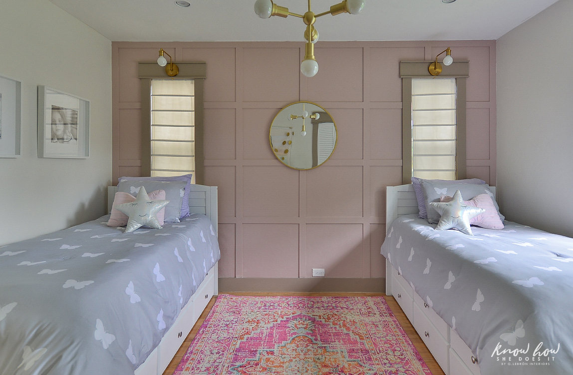 Project Color App Girl's Bedroom Beds