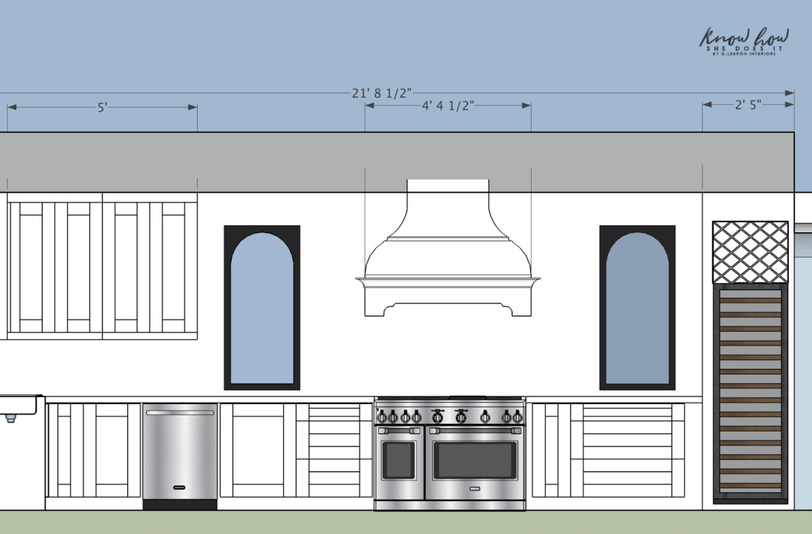 Small kitchen bigger space Kitchen Elevation