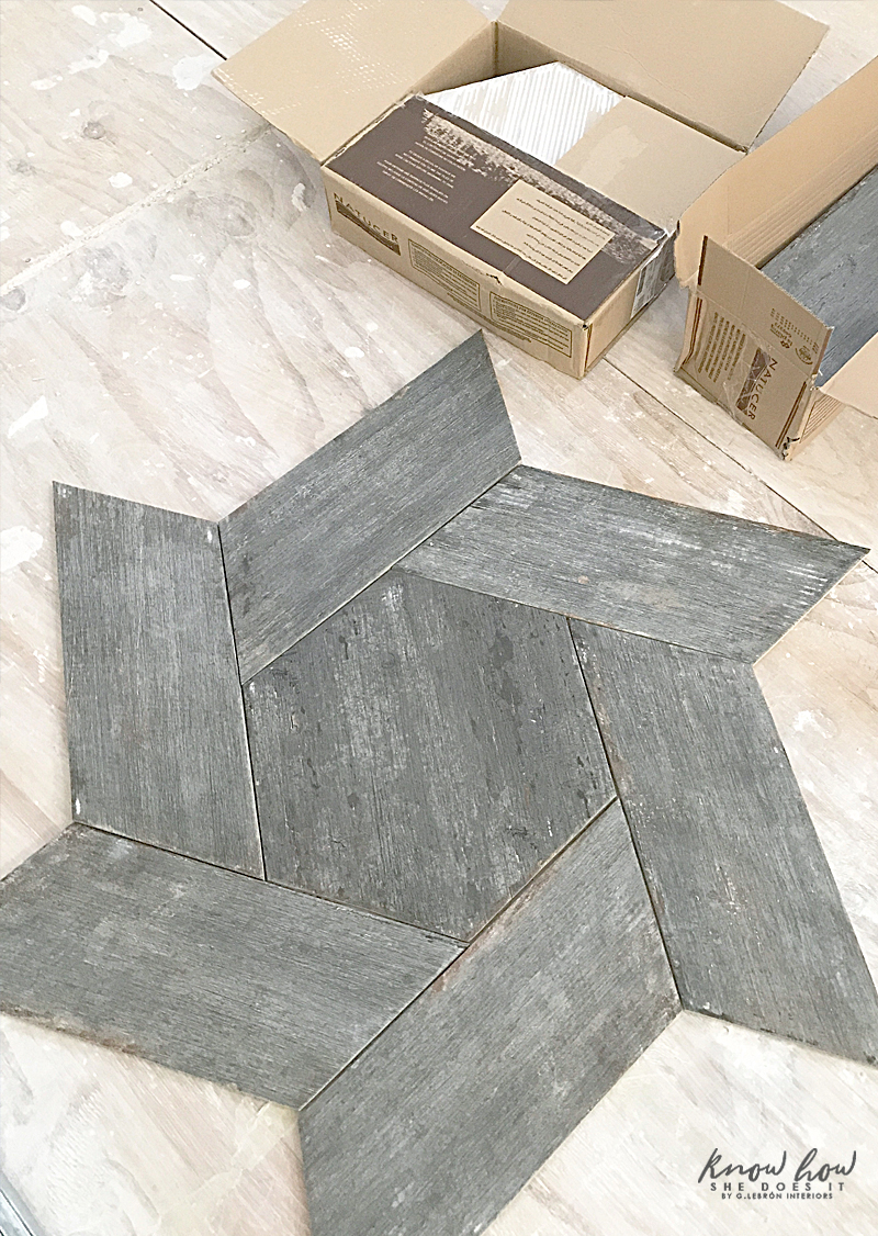 Sourcing for kitchen tiles Pattern