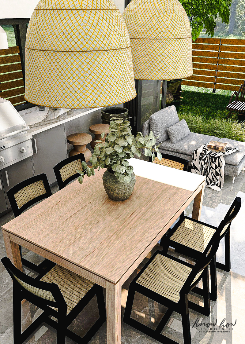 Virtual Guest House Dining Table