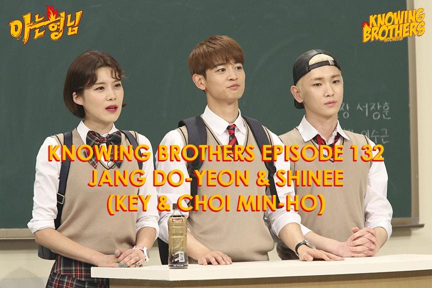 Nonton streaming online & download Knowing Bros eps 132 bintang tamu Jang Do-yeon & Shinee (Key, Minho) subtitle bahasa Indonesia