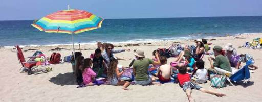 """From the Beach"" Summer Newsletter #3 – 9 to 11 Class"
