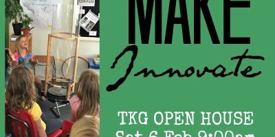 Enrollment Open House & MakerFair – Sat 6 Feb