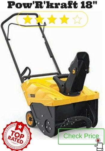 Best Gas Powered Snow Shovel