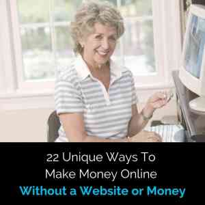 how to make 100 dollars a day online without a website a no money