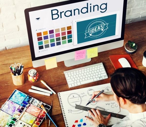 woman designing