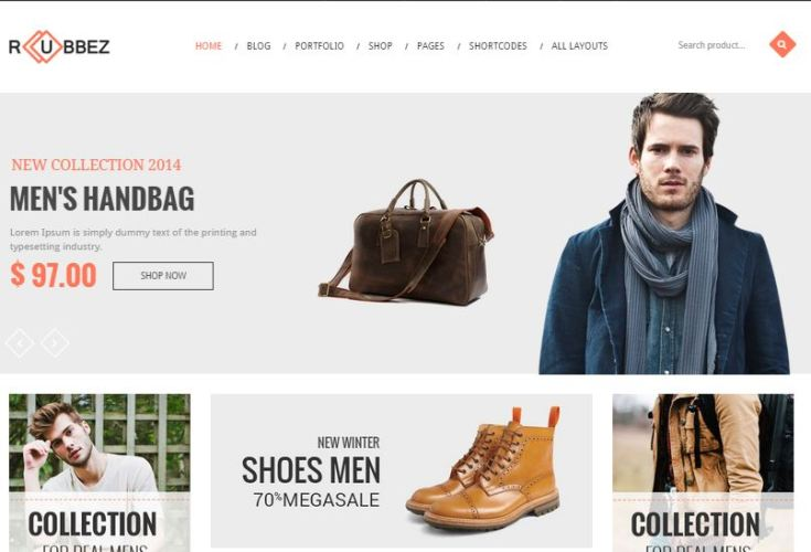 Rubbez WordPress eCommerce Themes