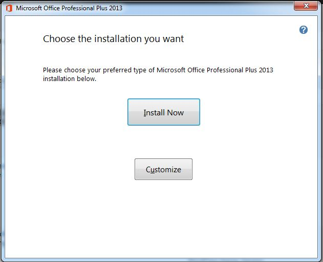 How to Install and Activate Microsoft Office 2013 step 3