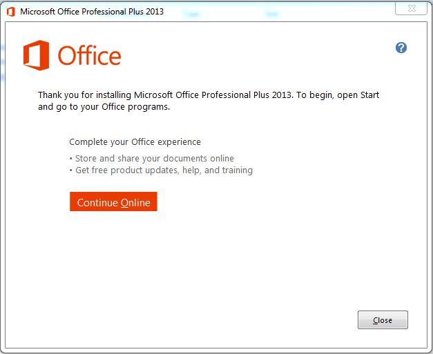 How to Install and Activate Microsoft Office 2013 step 4.1