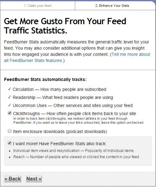 How to Setup FeedBurner For WordPress Step 4