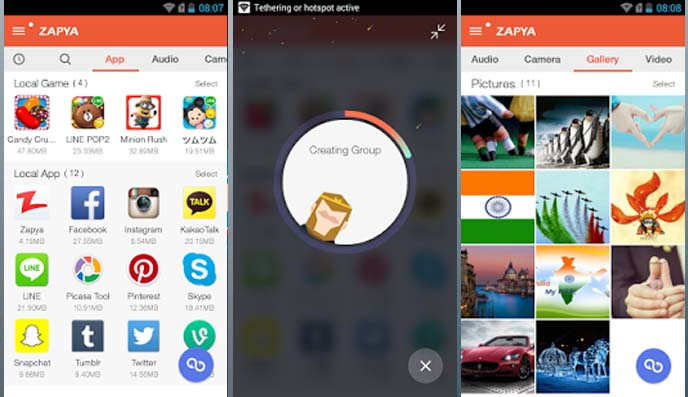 Top 10 Most Downloaded Android Applications Zapya