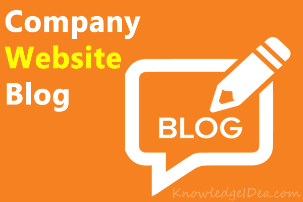 Things Should Enable on Company Website Blog