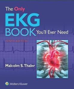 (Eğitim Tanrısı) Thaler, Malcolm - The Only EKG Book You'll Ever Need-Kayıp Kütüphaneci (2017)