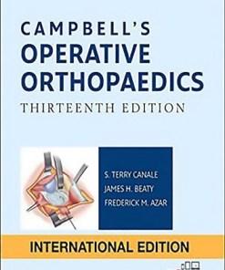 Campbell's Operative Orthopaedics, 4-Volume Set-13th Edition