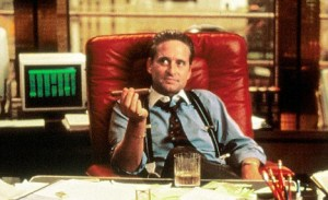 Michael Douglas Is Gordon Gekko in Wall Street.