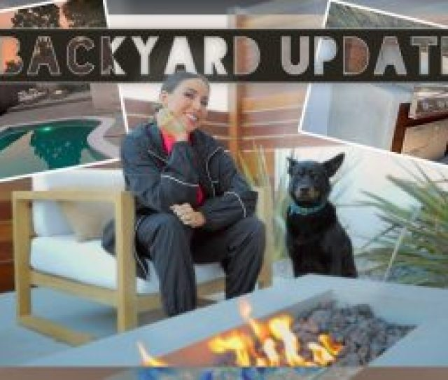 Backyard Remodel Is Almost Done Construction And Furniture Update