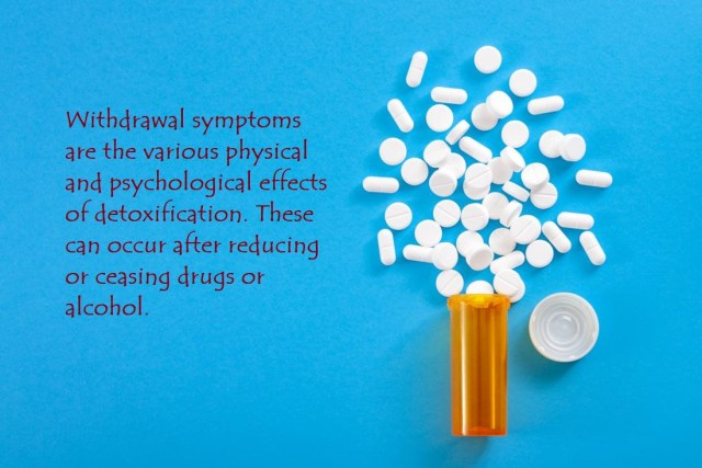 Drug Withdrawal Effects