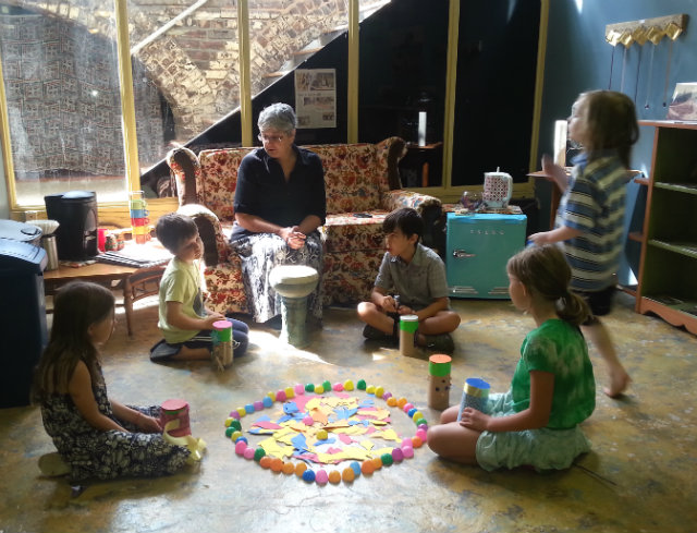 The Basement Community Art Studio's Summer Art Program