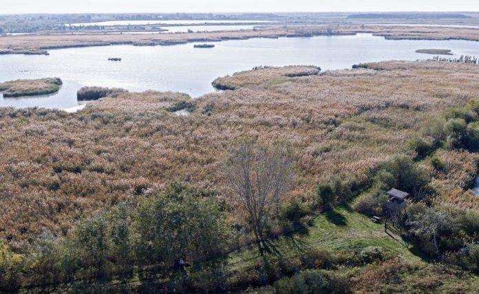 Csaj-tó látkép