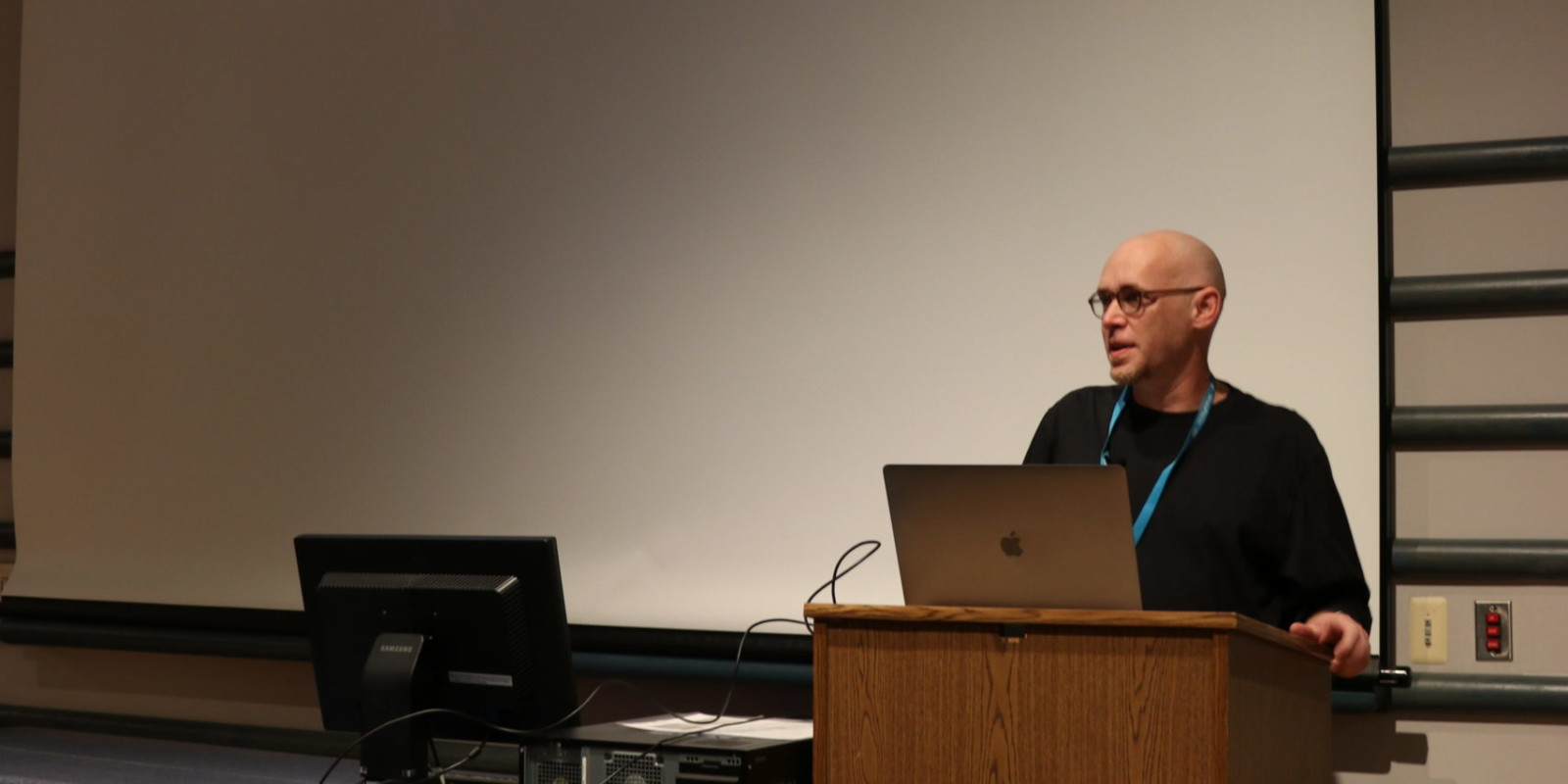 Corey Brown at WordCamp 2018