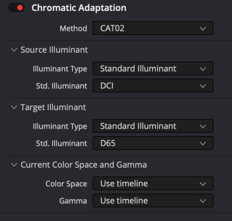 chromatic adaption effect
