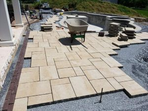 strong paver foundation knutsen