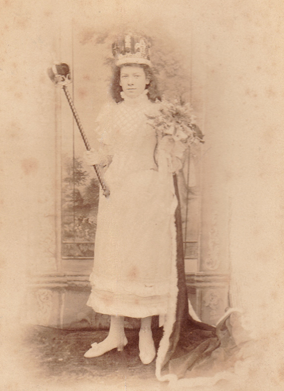 Knutsford Royal May Queen 1893 Nellie Gidman