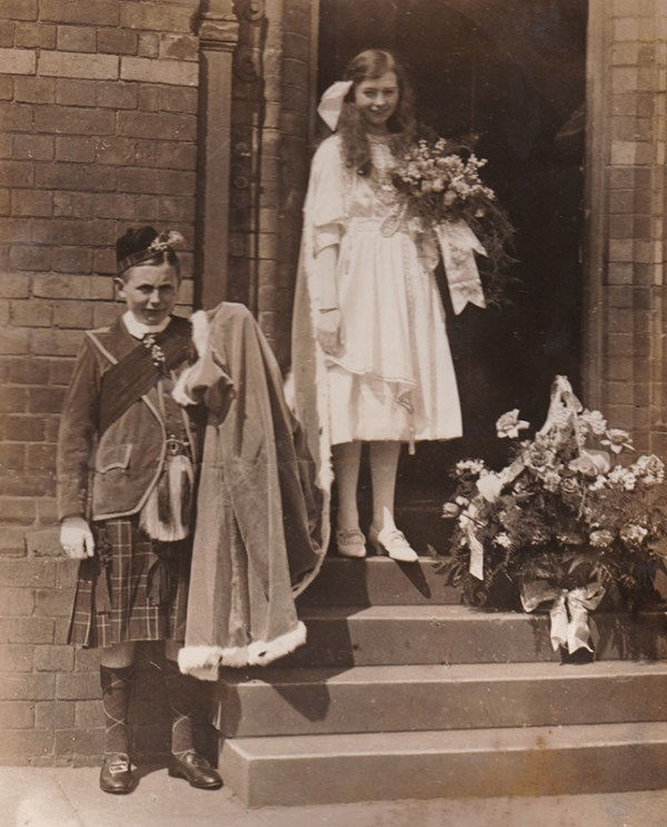 Knutsford Royal May Queen 1919