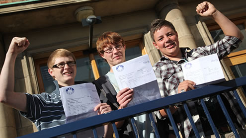 GCSE 2011 at Knutsford High School