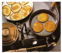 Buttermilk-corncakes