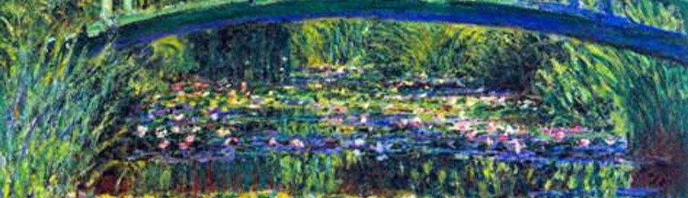 Claude Monet, waterlelies Jardin de Giverny