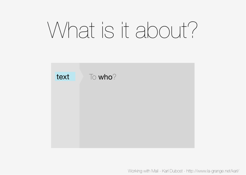 Slide 11 - Who are you talking to?