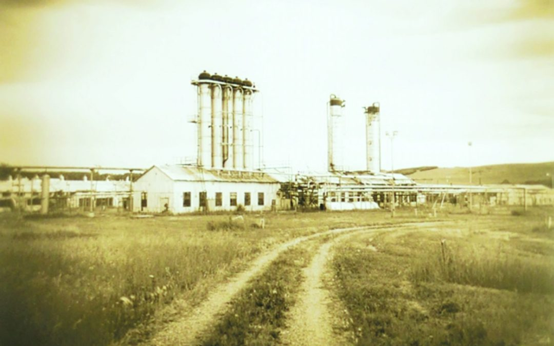 "George Webber RCA  ""Turner Valley Gas Plant, Number 1"" #4/10  2013"
