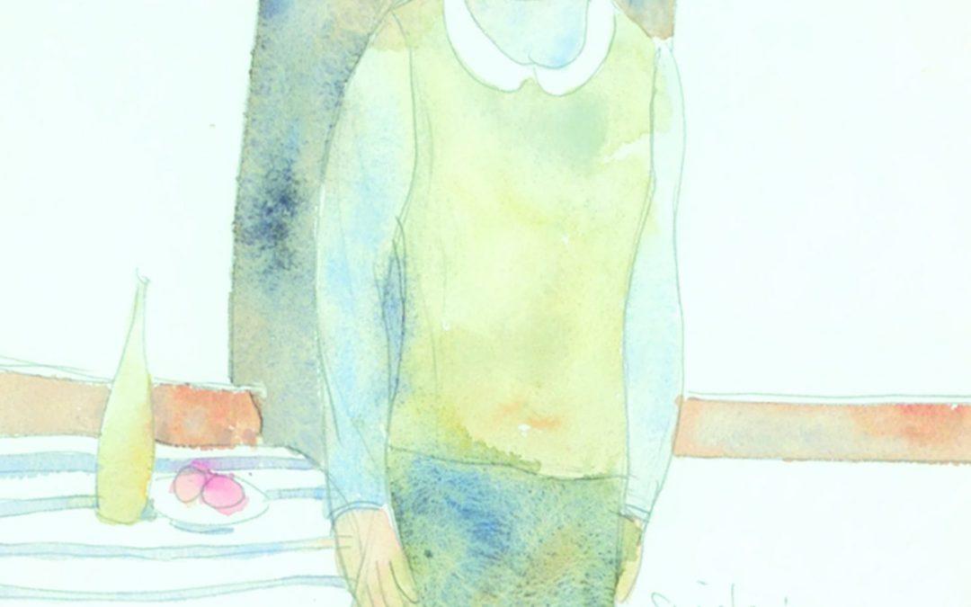 "Robert Sinclair RCA, ASA  ""Girl and Still Life""  1965"