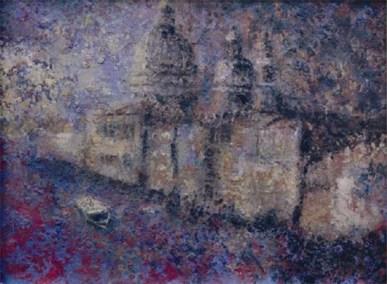 Santa Maria Della Salute - Alba Venezia 2006 - 24x30