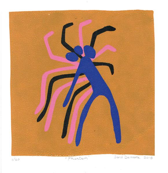"Sandrine Demeure  ""Phantom""   Silent Auction Lot #129"