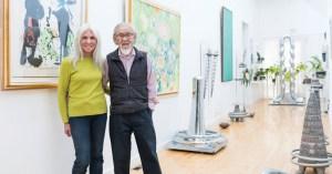 Katie Ohe and Harry Kiyooka