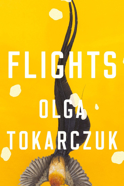 "Cover of the English translation of ""Flight"" by Olga Tokarczuk"