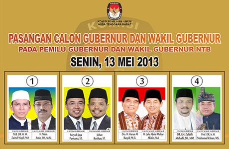 Menakar Calon Gubernur NTB 2013-2018: Who Will Be The Winner?