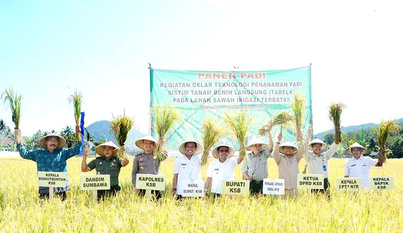 Bupati KSB Gandeng TNI/Polri Genjot Produktifitas Pertanian