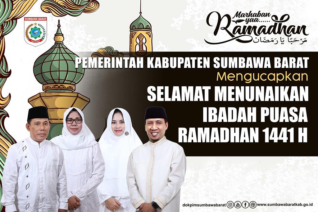 Bupati & Wakil Bupati KSB Mengucapkan Selamat Menunaikan Ibadah Puasa Ramadhan 1441 H