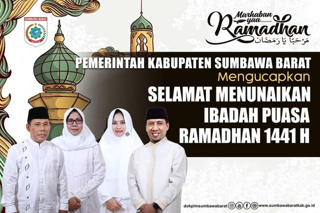 Iklan Ramadhan 1441 Bupati KSB