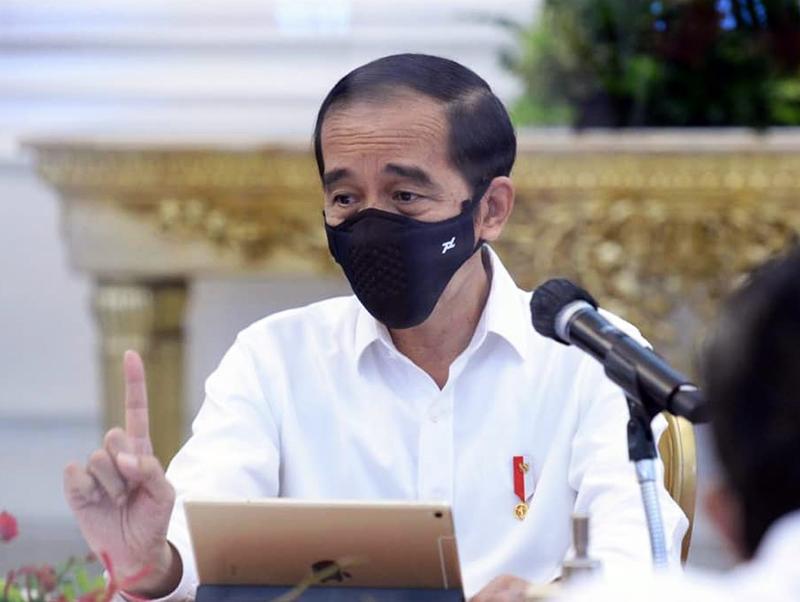 Presiden Jokowi Ingatkan Kepala Daerah Jaga Cadangan Pangan