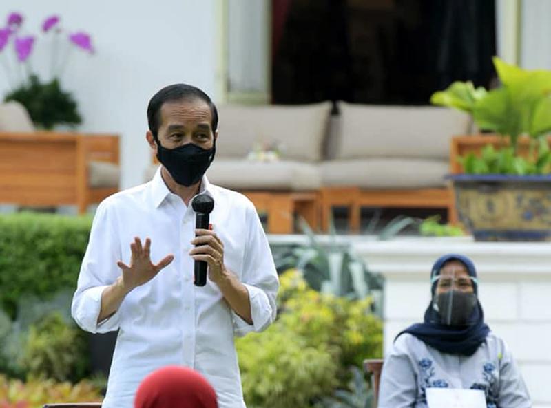 Jokowi: Siap-siap Saja, Saya Orang Pertama Disuntik Vaksin Covid-19