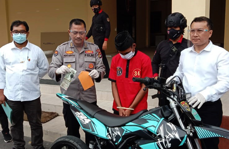 Jual Motor Bodong di Medsos, Penjual Diciduk Polisi
