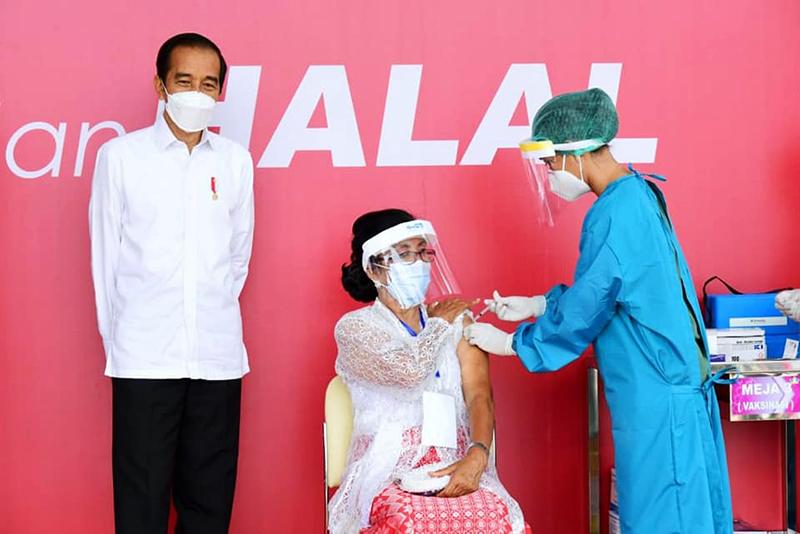 Vaksinasi Covid-19 di Indonesia Tembus 10 Juta Dosis