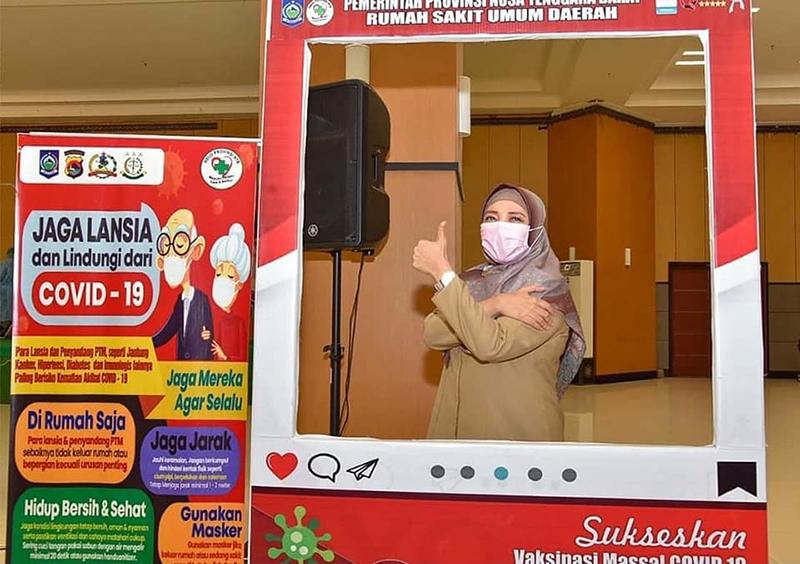 Sembuh dari Covid-19, Wakil Gubernur NTB Akui Vaksinasi Sangat Berguna